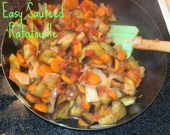 easy sauteed ratatouille