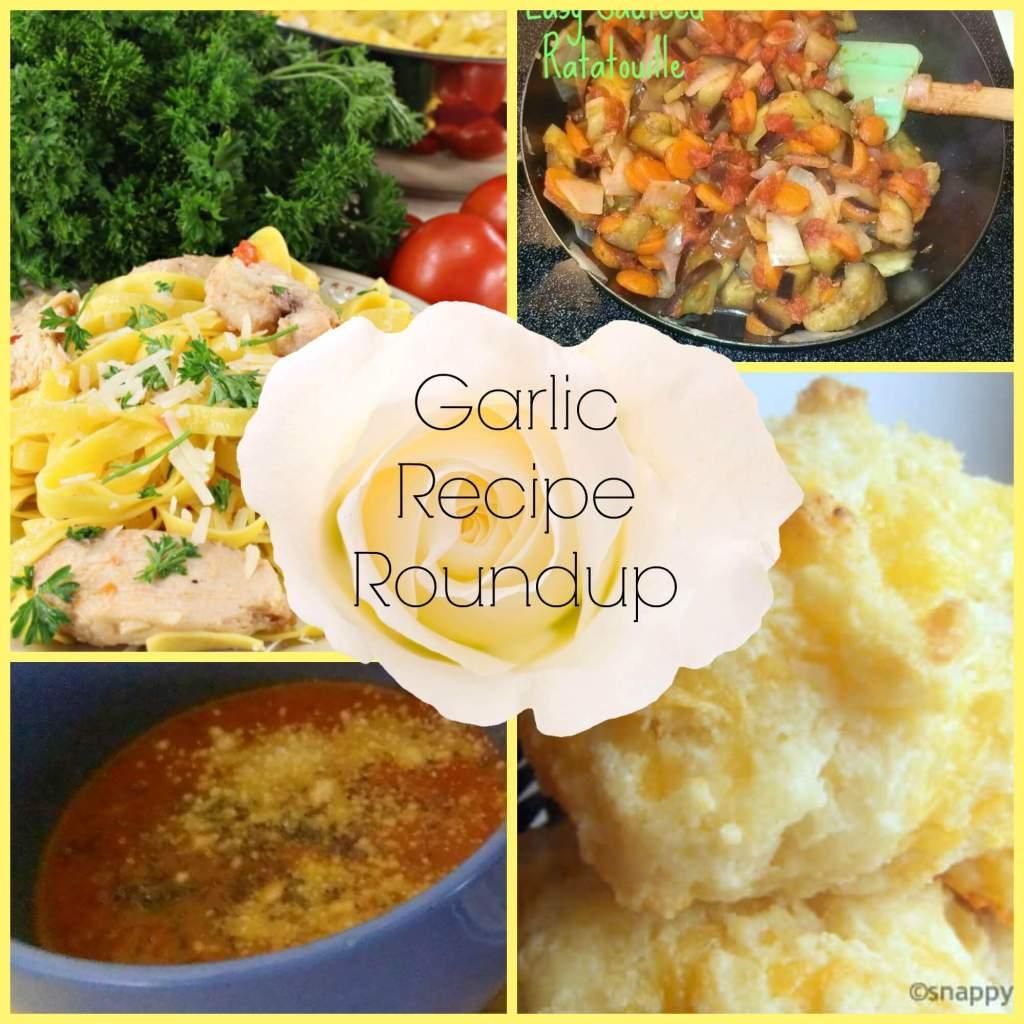 garlic recipe roundup