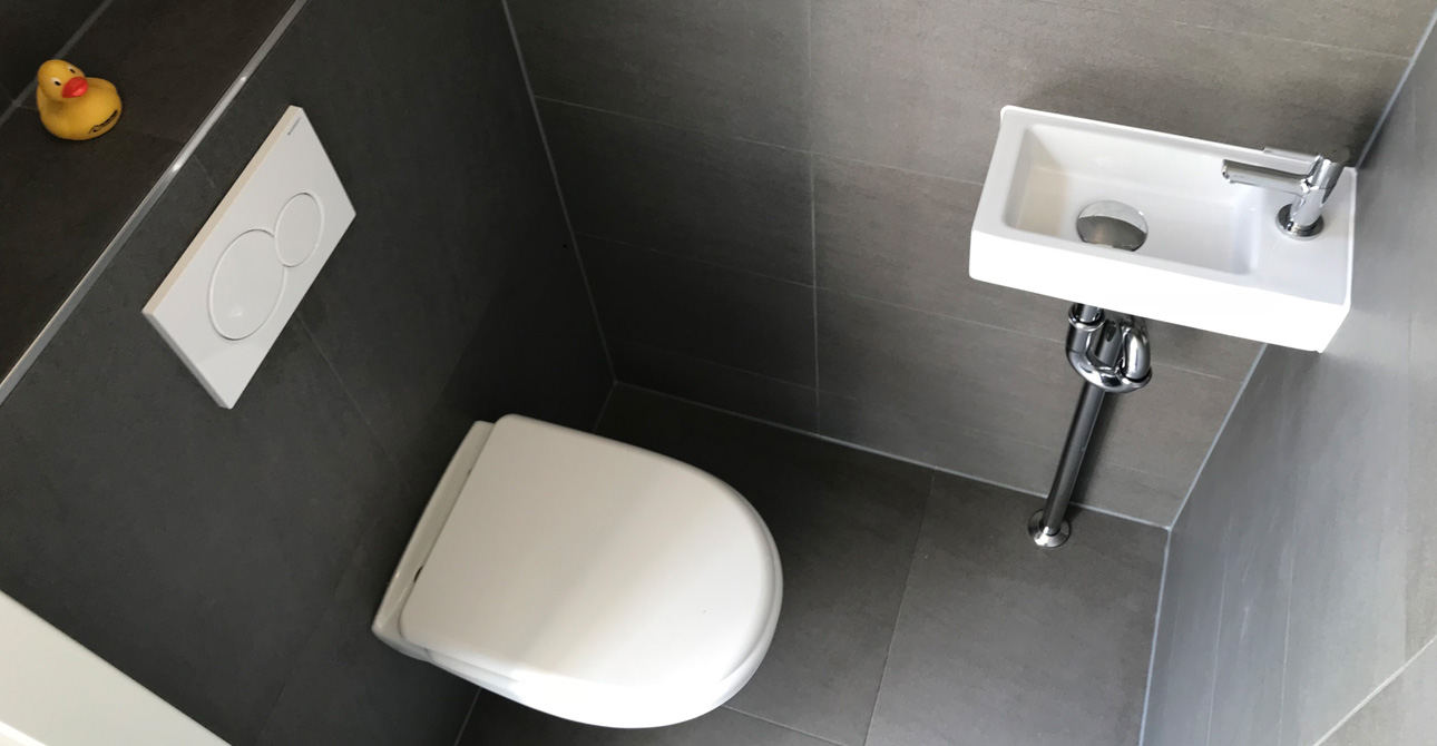 Wc Opknappen Toilet Renoveren Almere Project Foto S Toilet Renovatie Almere