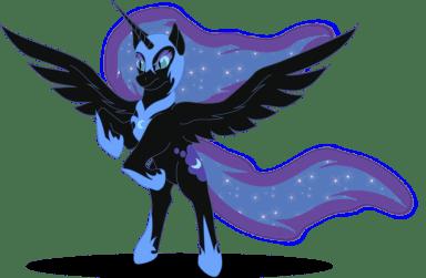 Nightmare Moon Image: http://spiritofthwwolf.deviantart.com/ (Yes, I'm a brony. Sue me.)