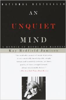 An Unquiet Mind book cover