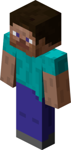 Steve, the generic design of a player's appearance.