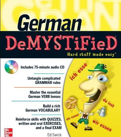 German Demystified is a textbook resource our family uses.