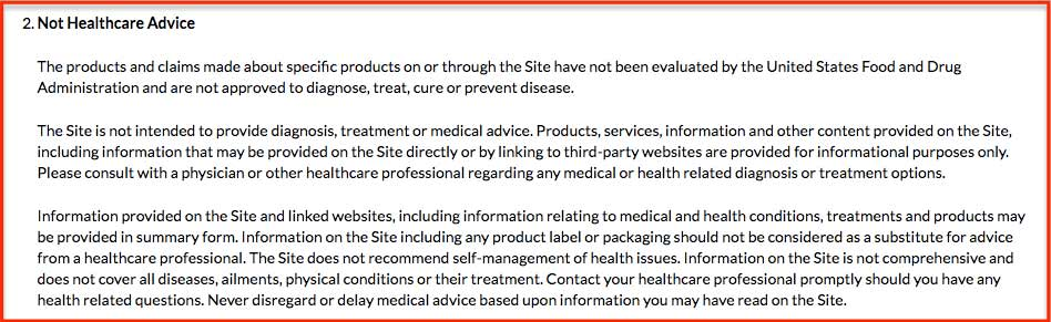 Free Legal Disclaimer Templates  Examples Download Now Termly - product liability disclaimer template