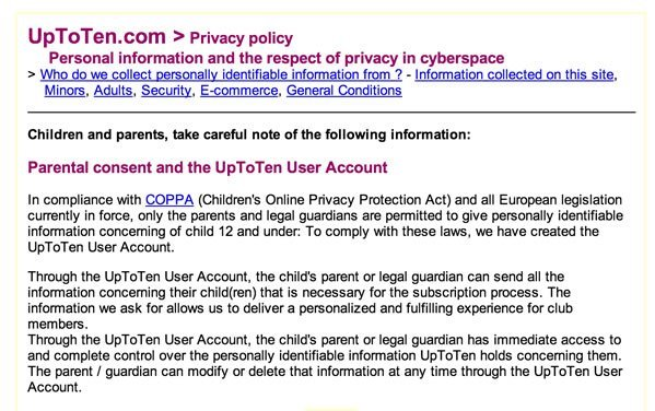 COPPA Children\u0027s Online Privacy Protection Act - TermsFeed - parent consent forms