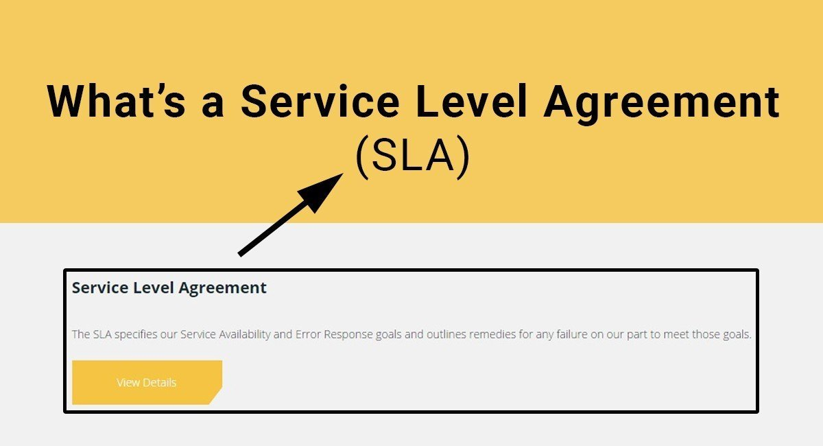 What\u0027s a SLA Service Level Agreement - TermsFeed - service level agreement