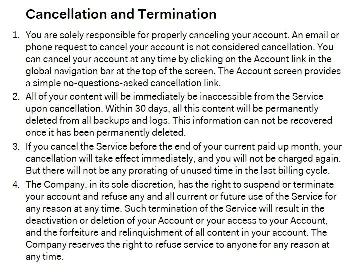 Clauses for subscription plans for SaaS apps - TermsFeed - writing contract agreements