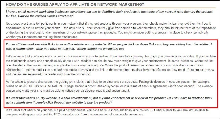 Disclaimer for Amazon Associates - TermsFeed