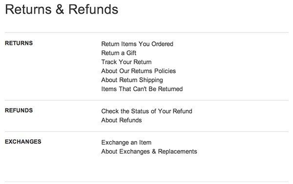 Sample Return Policy for Ecommerce Stores - TermsFeed - shipping manual template