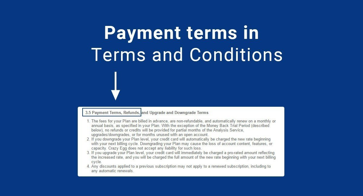 Sample Terms and Conditions Template TermsFeed - mandegarinfo