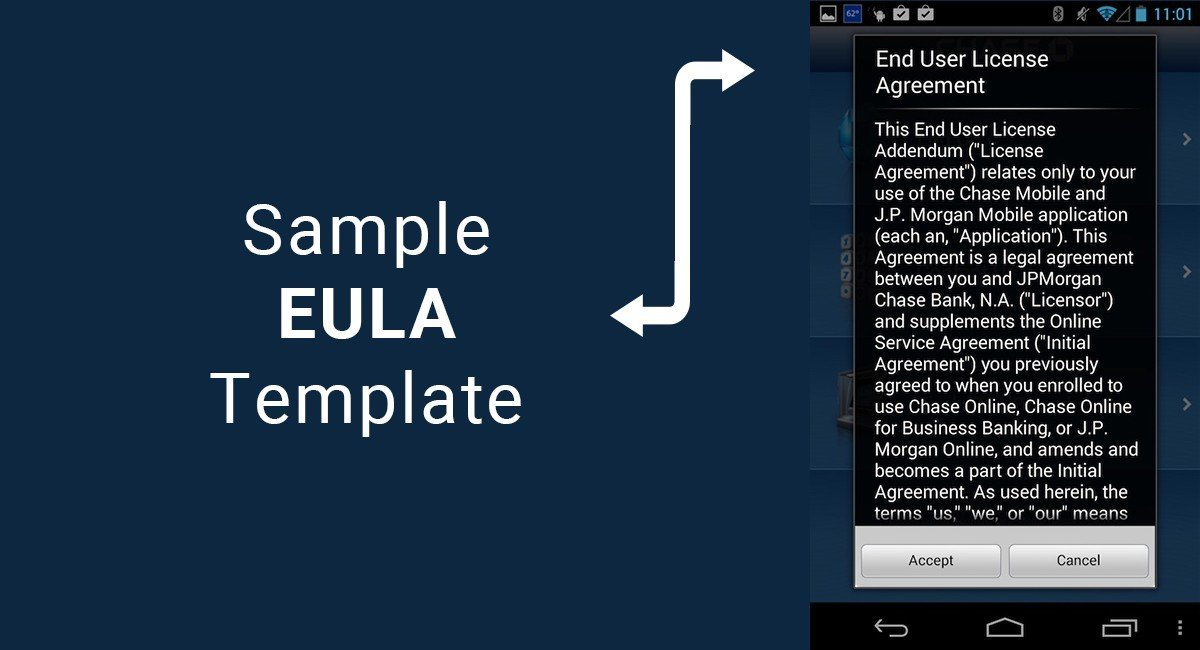 Sample EULA Template - TermsFeed - sample software license agreement