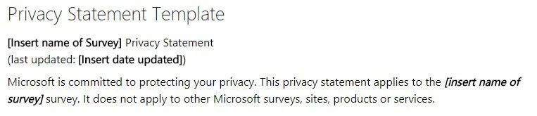Privacy Policy for Surveys - TermsFeed