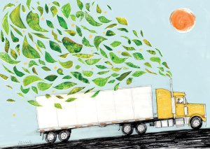 Sustainable Semis Illustration