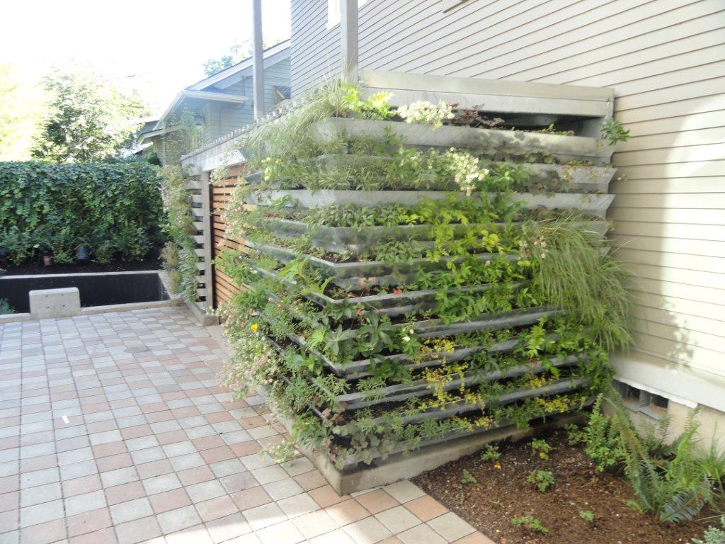 Mülltonnenverkleidung Paletten Living Wall Concepts Green Above Ground