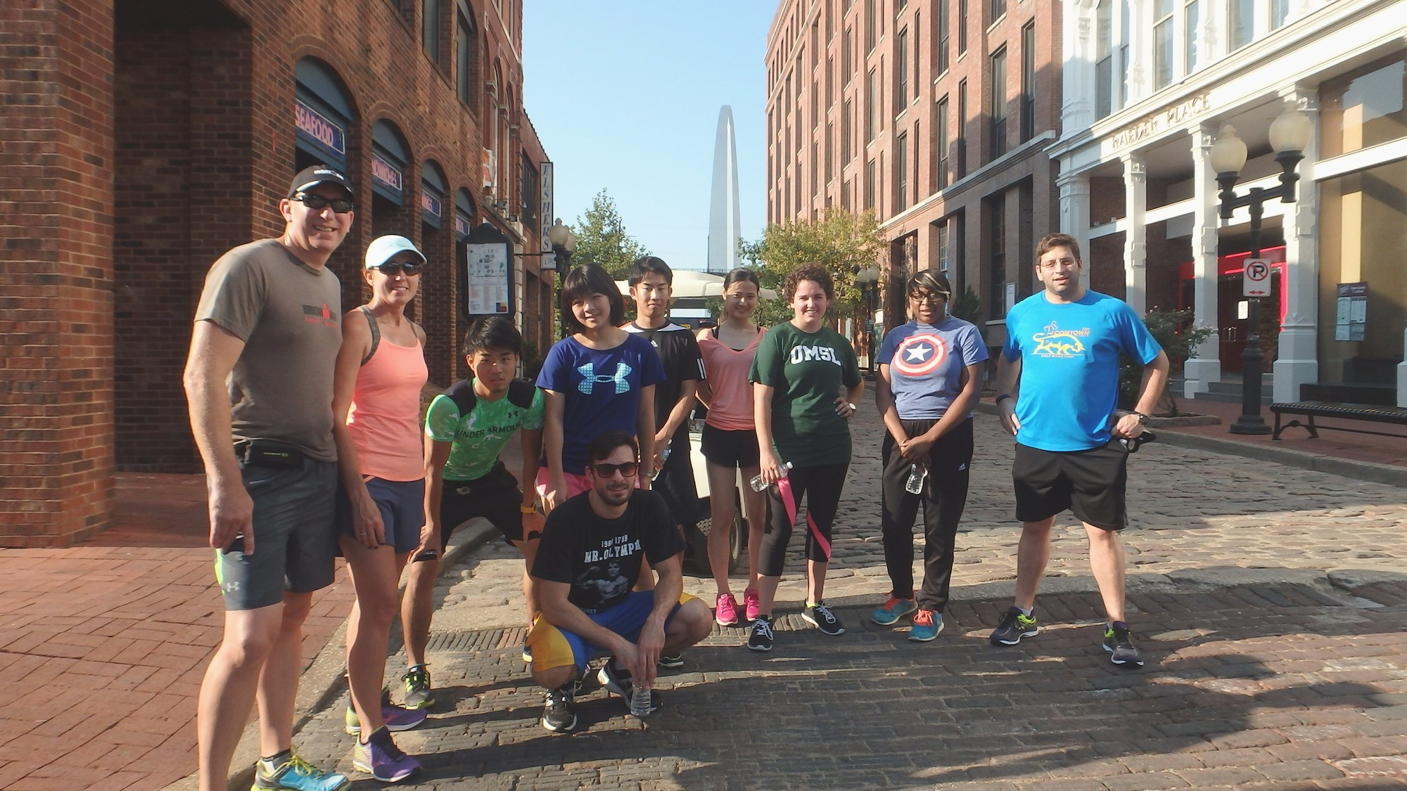 Glasregal Zigzag+atlas St Louis Running Tour History On Foot Terrain Magazine