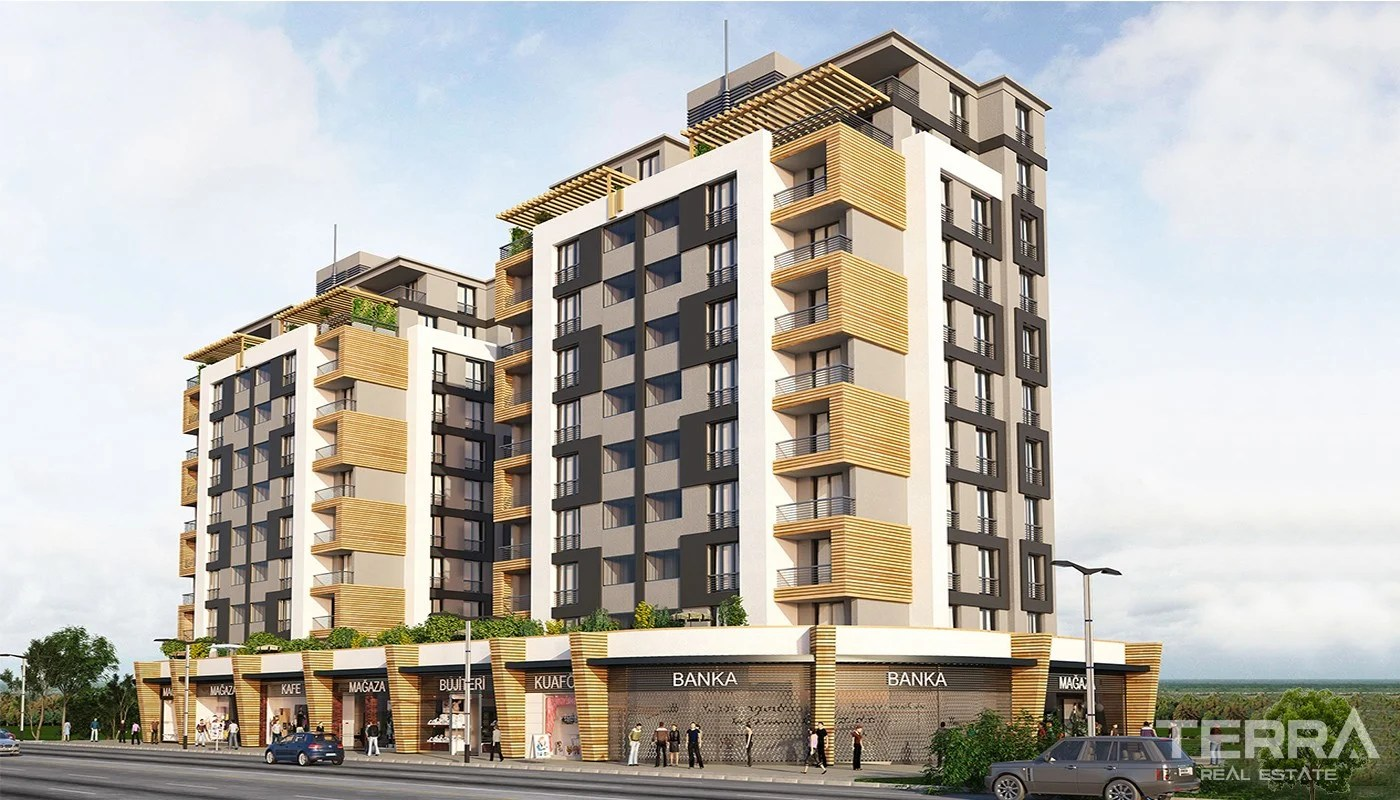 Chauffage Exterieur Gaz Metro Ready Istanbul Apartments Close To Main Arteries Of The City