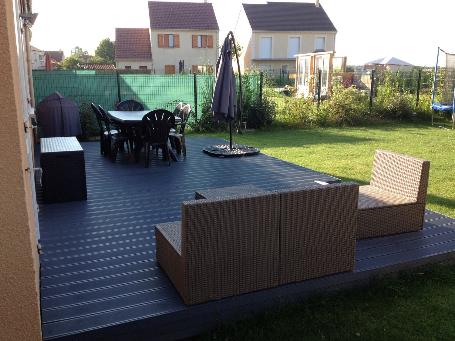 Lame Terrasse Composite Gris Anthracite Lame Terrasse Bois Gris. Cliquez With Lame Terrasse Bois