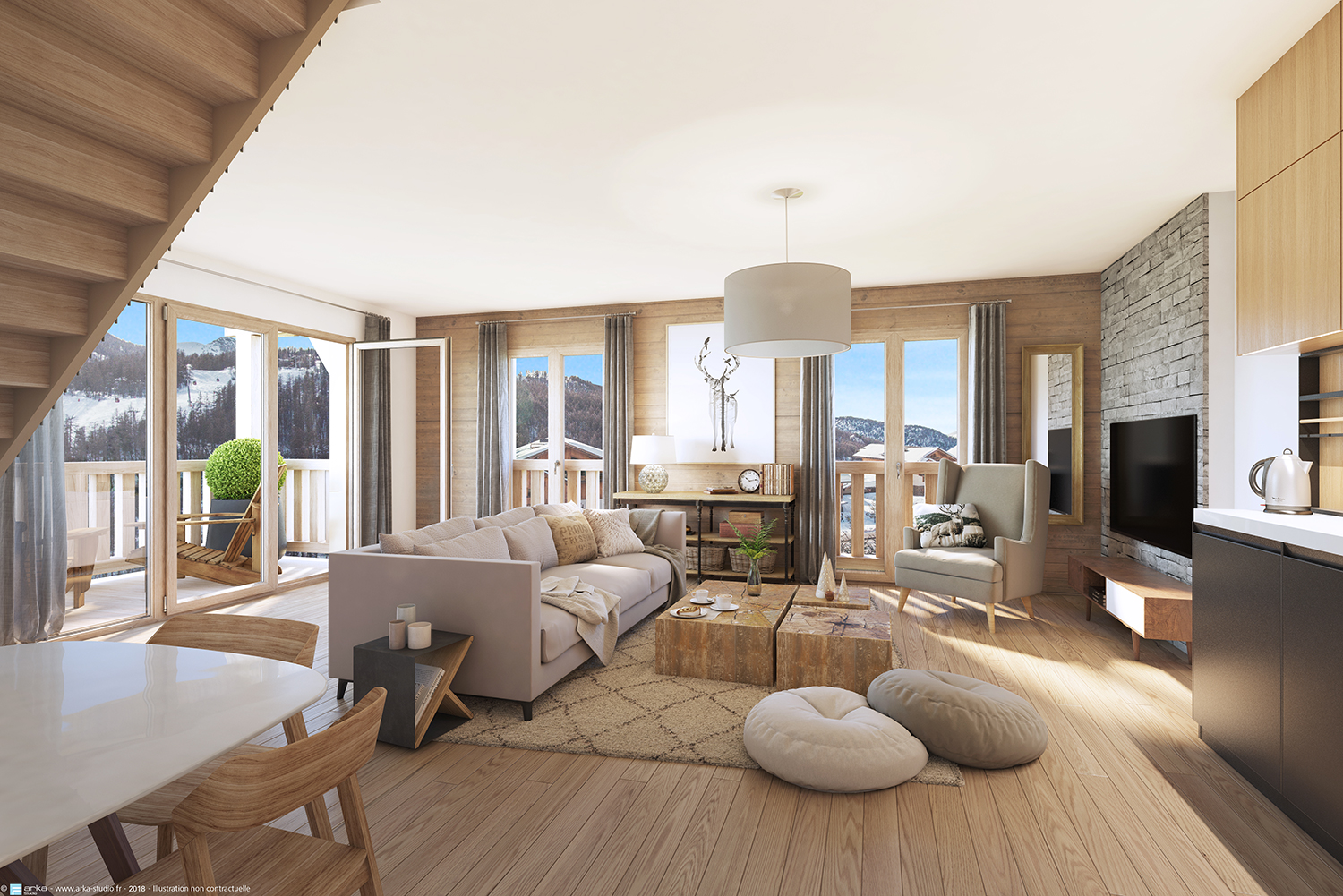 Hotel 4* Serre Chevalier Invest In Serre Chevalier Résidence Cristal Lodge Coming Soon