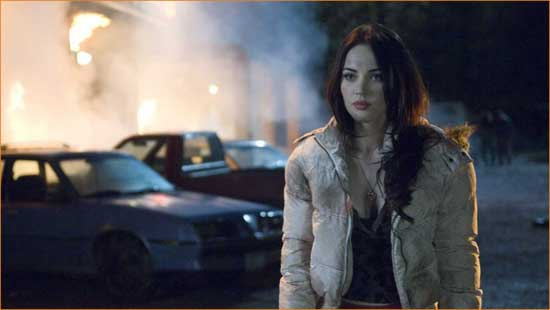 """Megan Fox perfectly cast as a hope-eating demon in """"Jennifer's Body""""."""