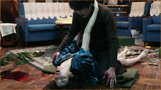 "Very Human. Very Monstrous. The vampiric world according to Park Chan-wook's ""Thirst""."