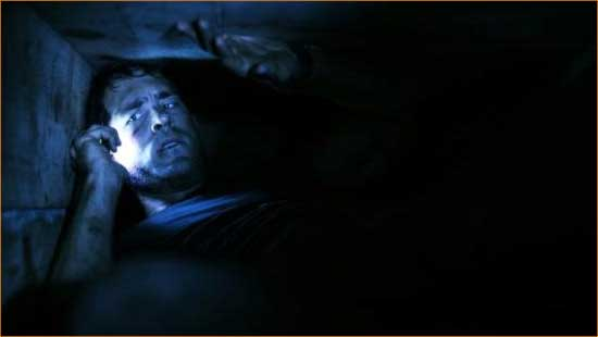 "Ryan Reynolds is stuck like Chuck in ""Buried""."