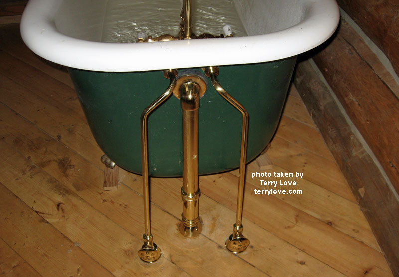 Cozy How To Replace A Clawfoot Tub Faucet And Waste And Overflow ...