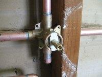 Installing a new Moen Posi-Temp shower valve | Terry Love ...