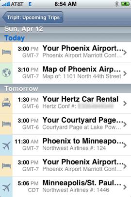 tripit-itinerary