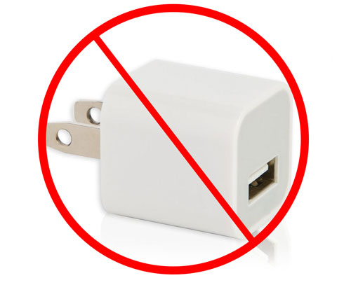 no-charger