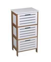 Buy Stanford 3 Drawer Bathroom/Bedroom Cabinet- Bamboo ...