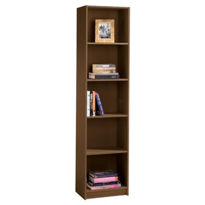 Buy Fraser Walnut Effect 5 Shelf Bookcase From Our