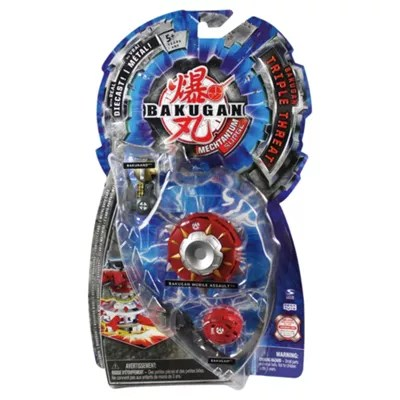 Mini Buggy Janod Bakugan Série 4 Triple Threat De Spin Master