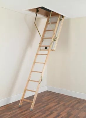 Buy Tb Davies Luxfold Timber Folding Loft Ladder From Our
