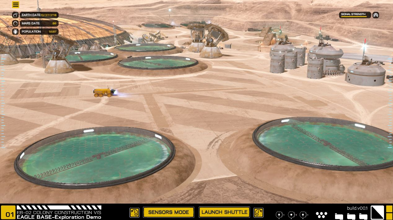 Cash Pool Rüsselsheim Nasa Develops 3d Mars Base Simulator In Collaboration With Game