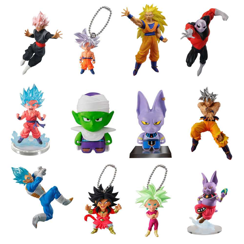 Toy Capsule Toys Dragon Ball Capsule Toy Prepack 5 Random Toys With No Repeats