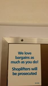 We love stuff like you... you darn shoplifters!!!