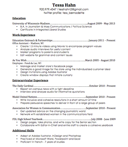 create a quick free resume