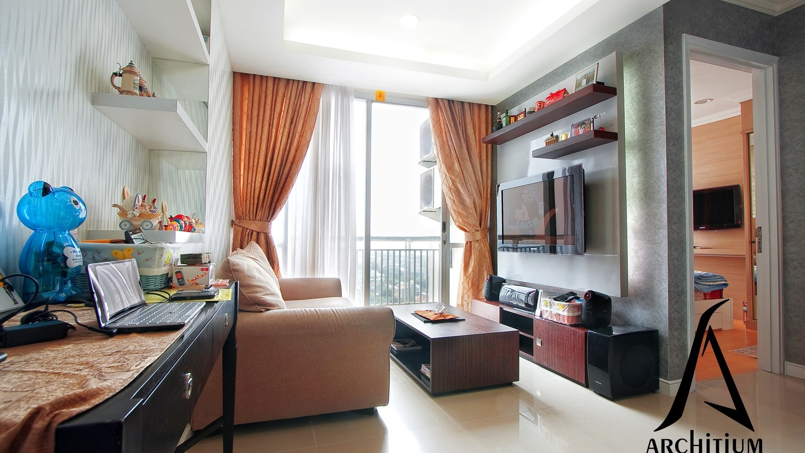 Interior-Apartment-Jakarta-Pluit-Living Room-02