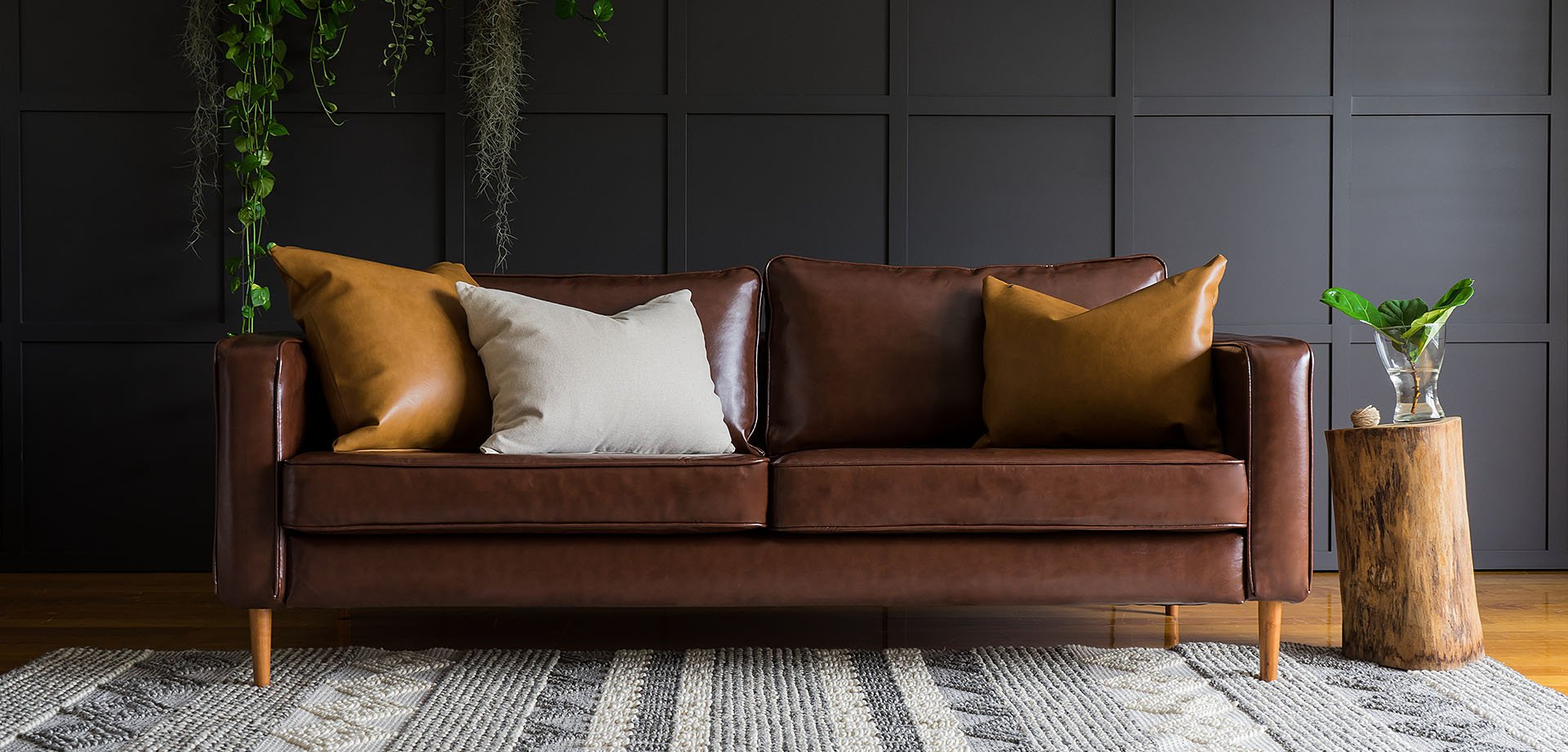 Sofa Arm Tray South Africa Leather Slipcovers Upholstery Isn T The Only Way To A Leather