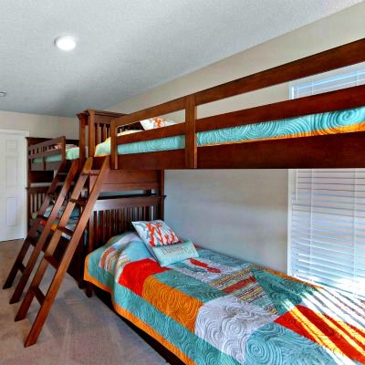 Crystal Beach Destin rental home bunkroom