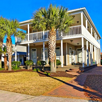 Crystal Beach Destin rental home exterior