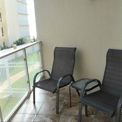 Sterling Sands Destin rental condo second master balcony