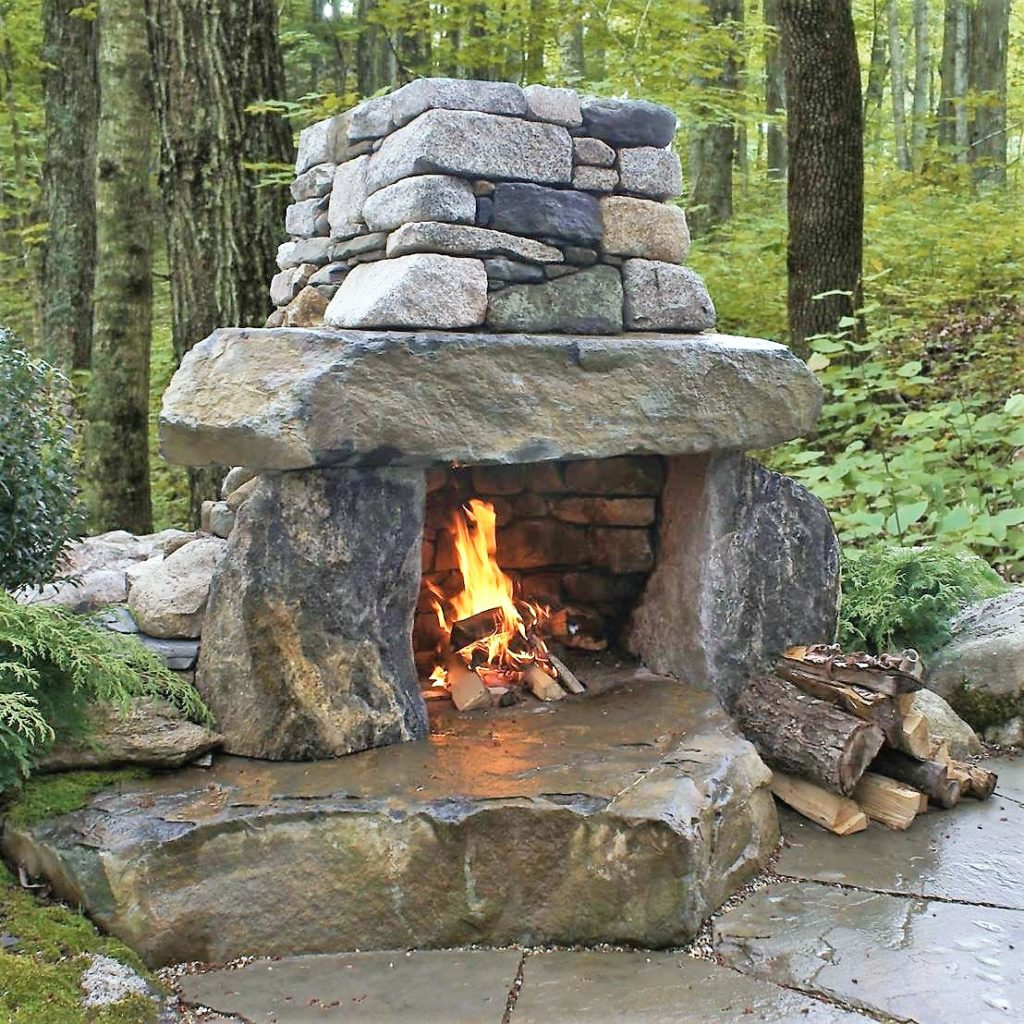 Outdoor Fireplace Contractors Outdoor Fireplace