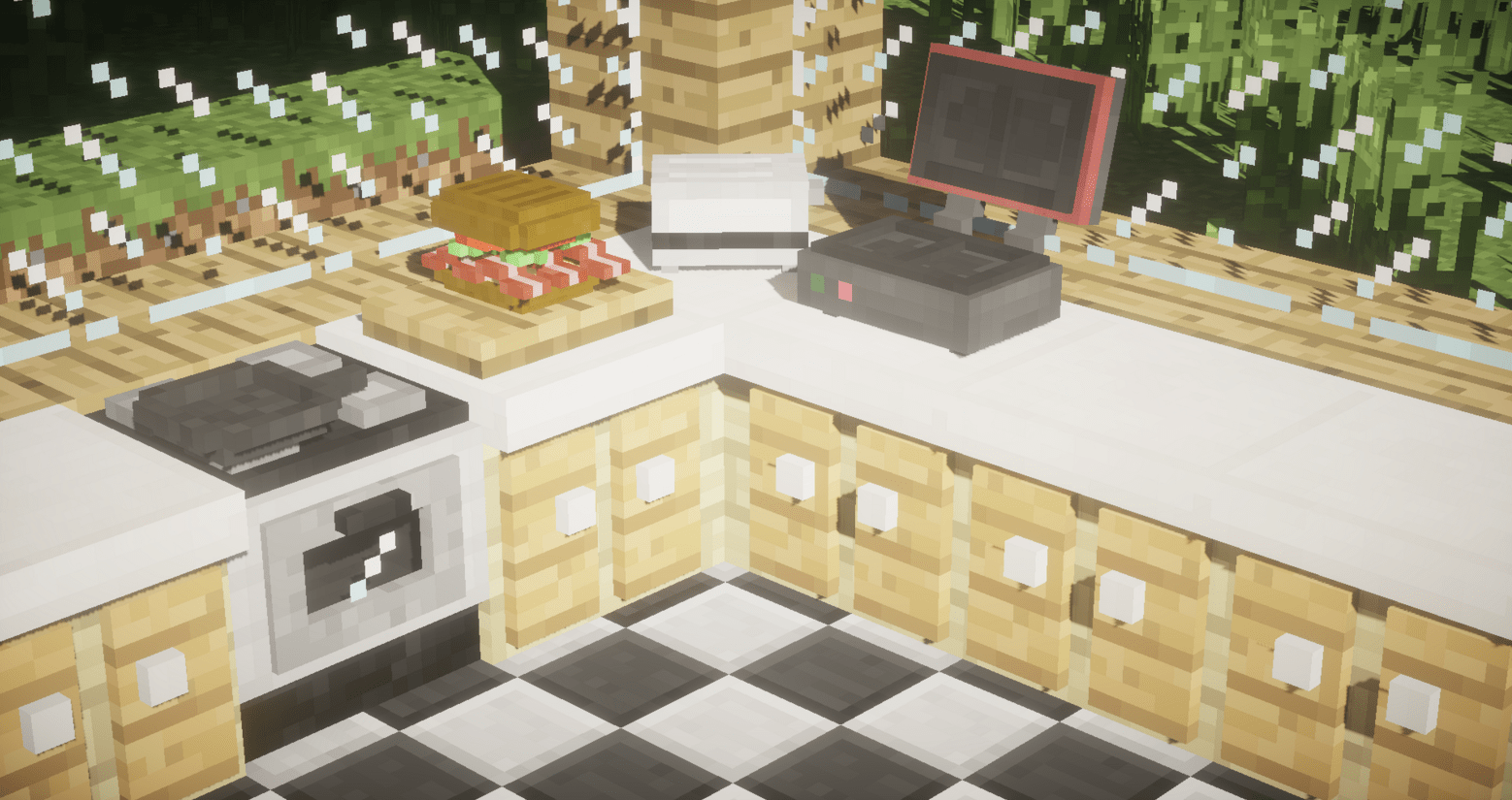 Minecraft Kitchen Mod 1.8 1 7 10 The Kitchen Mod Make Burgers And More Mod Installer