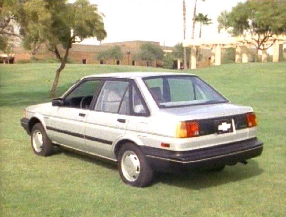 1985 Chevrolet Nova Manufacturer Promo