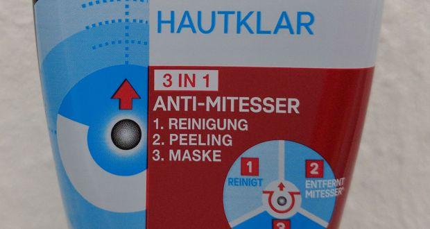 Garnier Hautklar 3in1 Anti-Mitesser - Titel