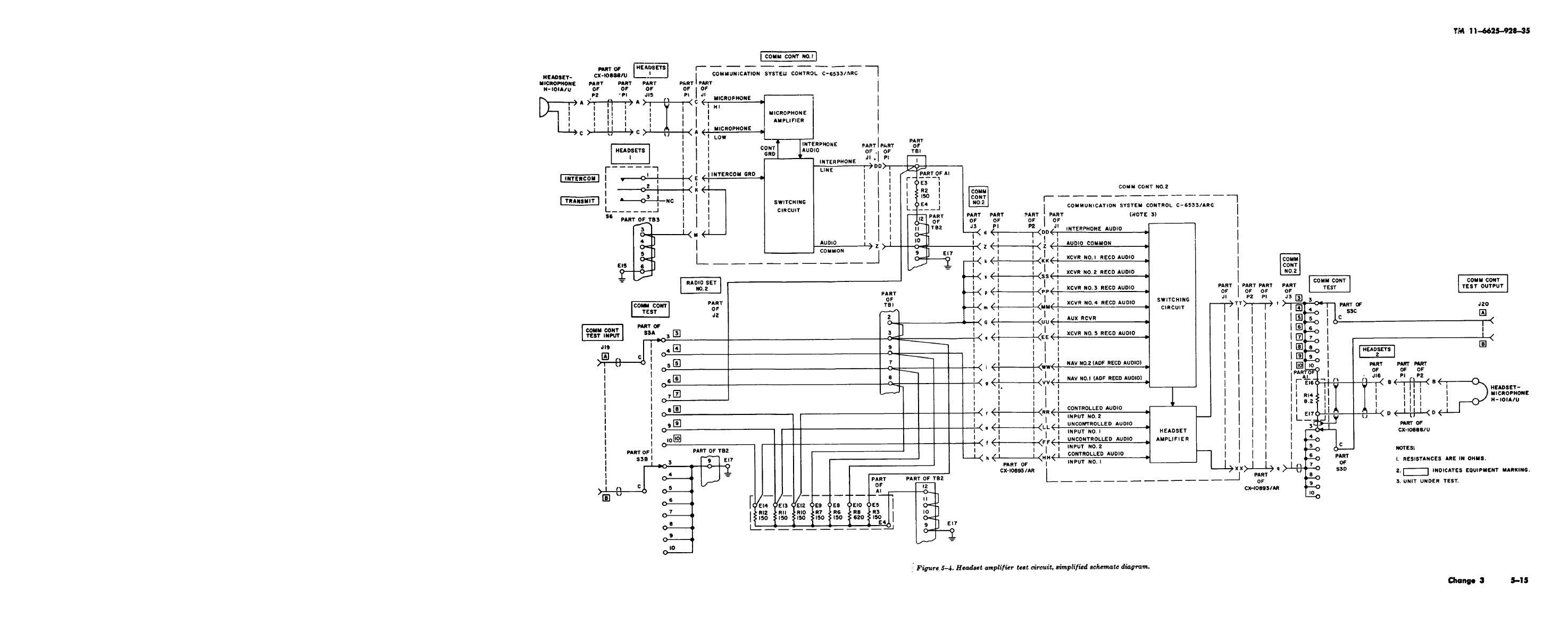 aviation headset wiring schematic