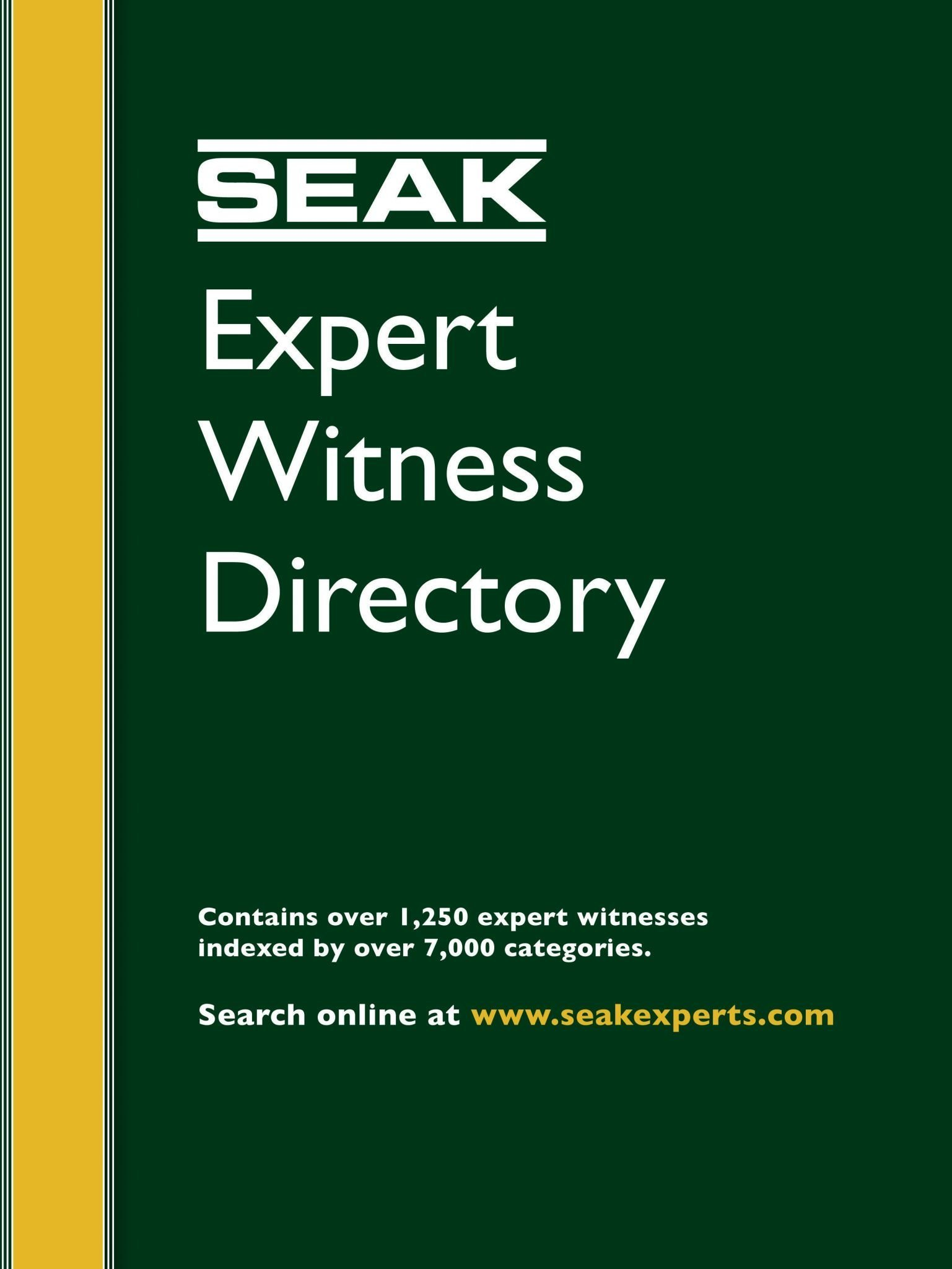 Expert Folder Types Of Expert Witnesses Seak Inc