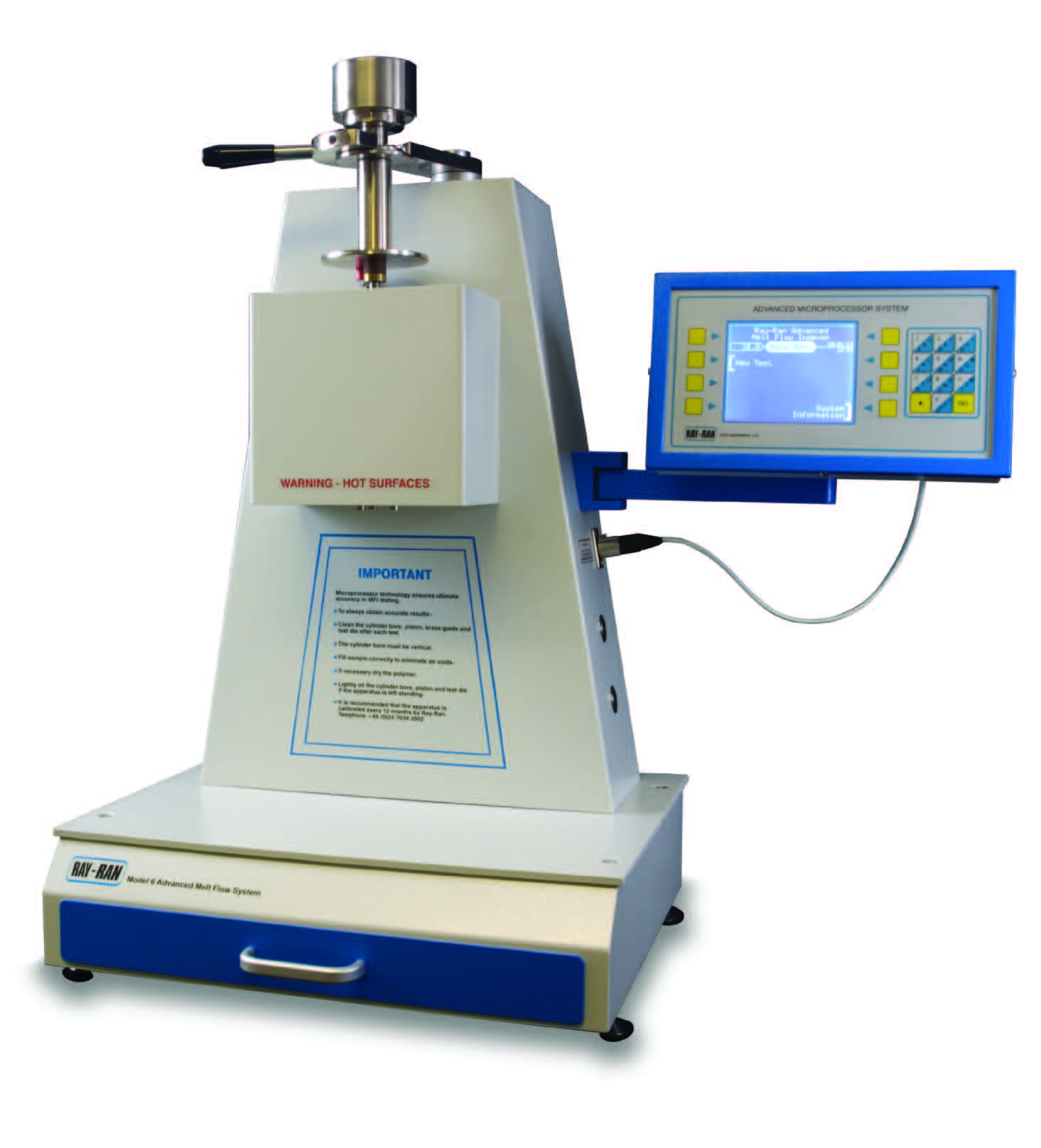 Density Testing New Melt Flow Index Tester Automatic High Accuracy Testing