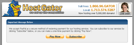 cara membeli hosting di hostgator subscribe atau buy now picture